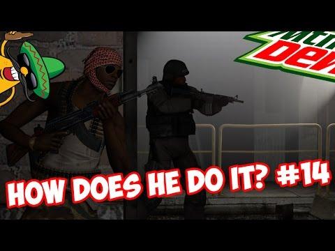 CS:GO - HOW DOES HE DO IT? #14