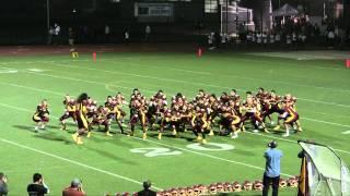Menlo-Atherton Football - Haka 2011