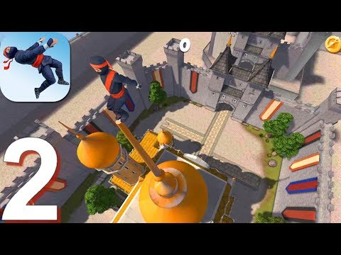 Ninja Flip - Gameplay Walkthrough Part 2 Levels 6-1 To 10-1 (Android, IOS Gameplay)