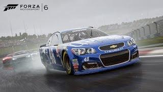 Forza 6 Daytona NASCAR Crashes