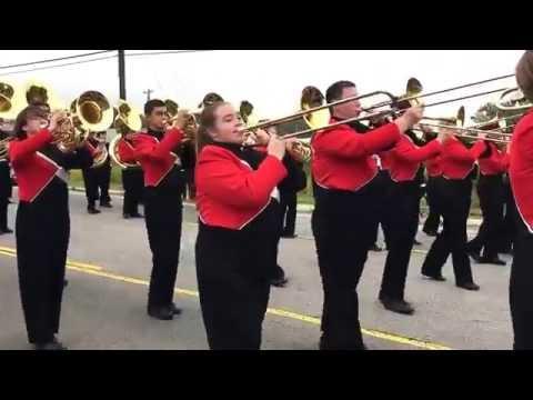 Cabot Homecoming Parade - CHS Marching Band - October 14, 2016