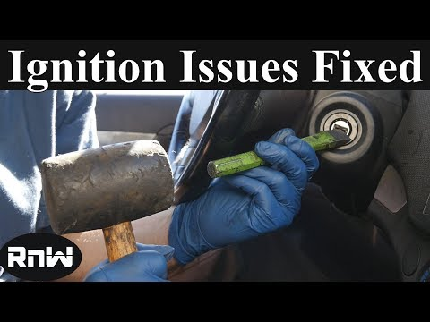How to Replace or Fix an Ignition Lock Cylinder to Unlock Steering Wheel - With or Without a Key