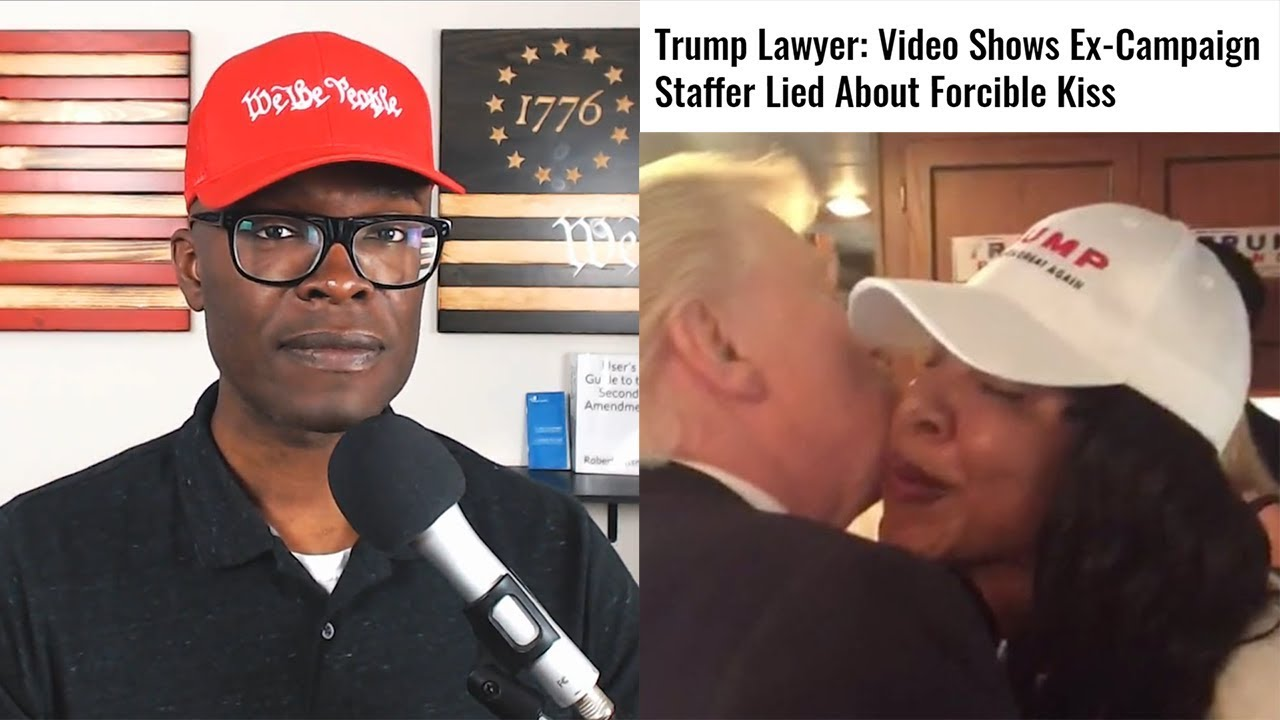 ABL Trump 2016 Staffer Sues Over Forced Kiss, VIDEO Says Otherwise!