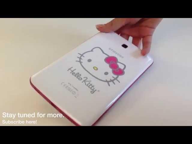 Say Hello To The Samsung Galaxy Tab 3 7 0 Hello Kitty Edition
