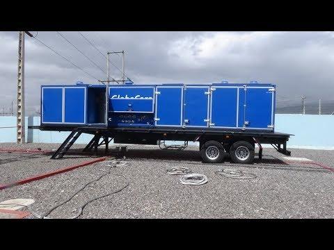 Oil Regeneration With GlobeCore Equipment CMM-12R