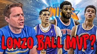 Would LONZO BALL Make the KNICKS an NBA Dynasty?!?