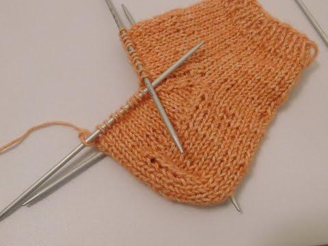 Die klassische Ferse | Socken stricken | Käppchenferse