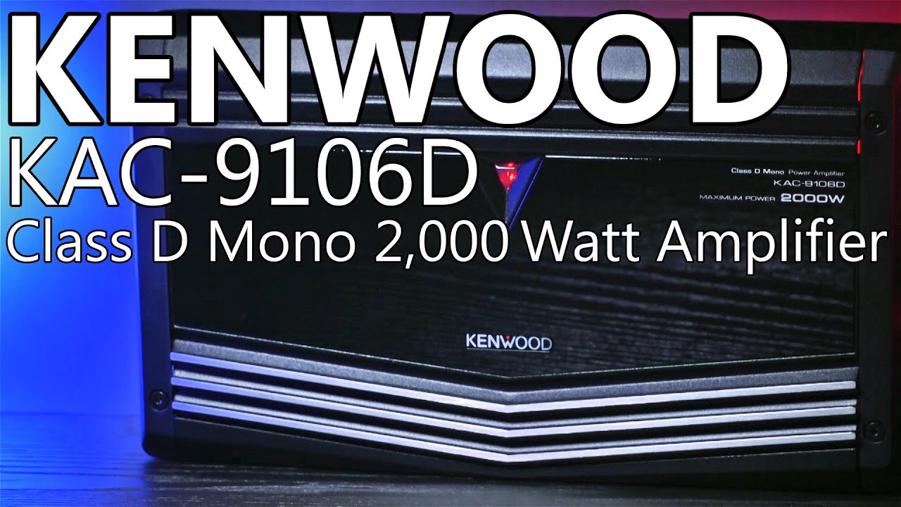 maxresdefault kenwood kac 9106d 2,000 watt mono amplifier review youtube