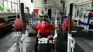 Пауэрлифтинг, тренировки. Рустам Басиров - Мотивация.
