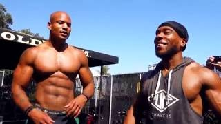 Chris Jones Learning How To Do A Muscle Up?  (Pump Chasers / Bro Labs / physiques of greatness)