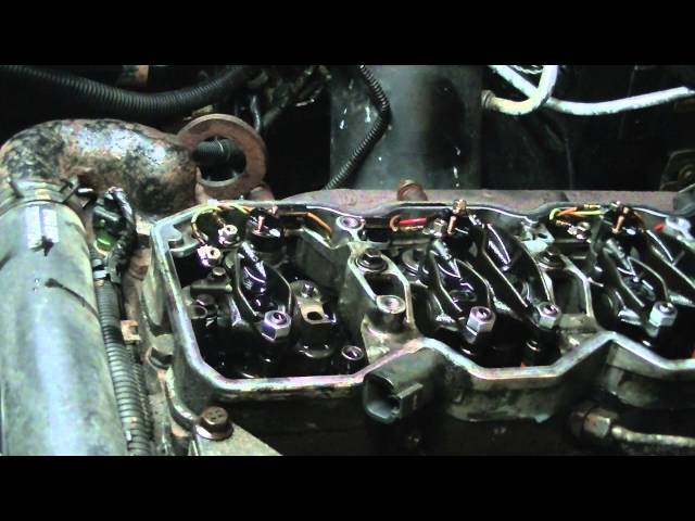 HOW TO INSTALL CUMMINS CR INJECTORS - YouTube