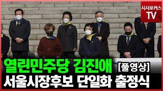 열린민주당 김진애 서울…