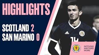 HIGHLIGHTS | Scotland Under-21s 2-0 San Marino Under-21s