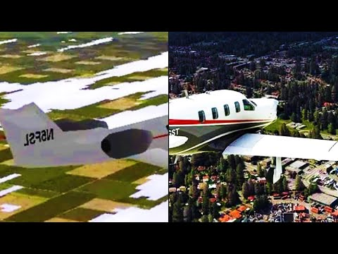 Evolution Of Microsoft Flight Simulator 1982-2020