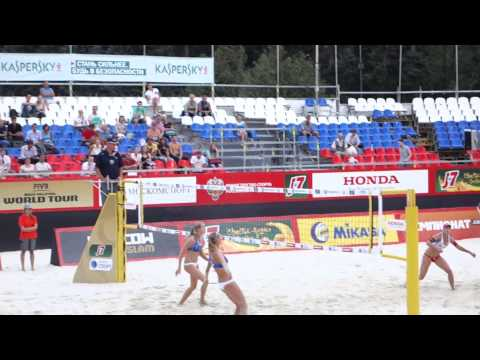 Moscow Grand Slam 2013. Beach Volley. Women. Russia - Switze