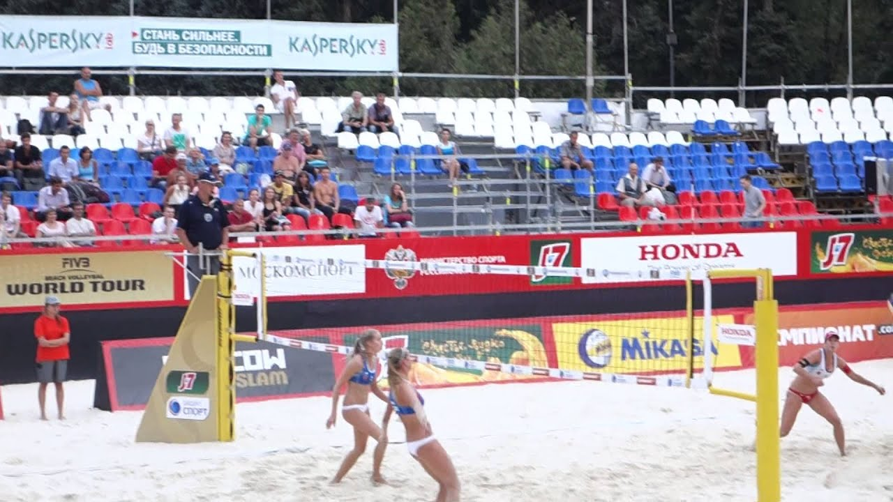 Moscow Grand Slam 2013. Beach Volley. Women. Russia - Switzerland. Пляжный Волейбол. Group Match