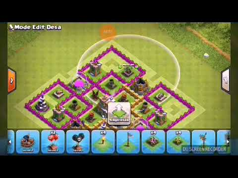 Cara Membuat Base Coc Th 8 4