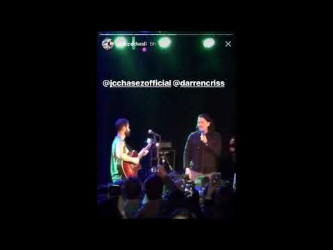 JC Chasez performing at Darren Criss St Pattys Day 90s Party