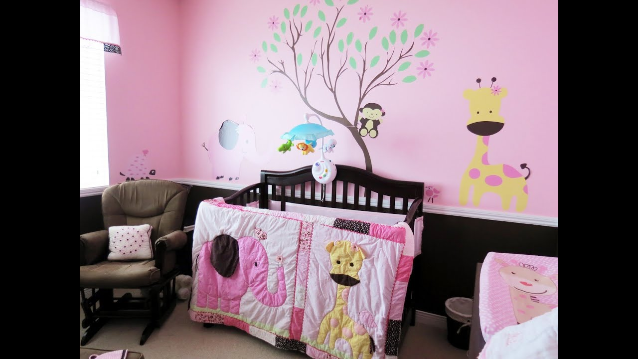 Spectacular mom and baby room ideas youtube for Baby girl room decoration