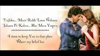 Hawayein  HD - Arijit Singh - Jab Harry Met Sejal - Lyrical Video With Translation  | Mix Mania