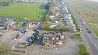 Great Yarmouth to caister on over seashore caravan holiday park
