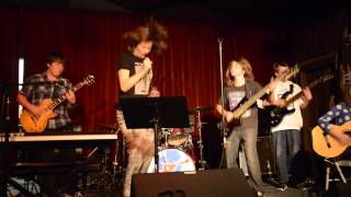"""Kara and """"The Babes"""" perform """"Holiday In Cambodia"""" by The Dead Kennedys"""