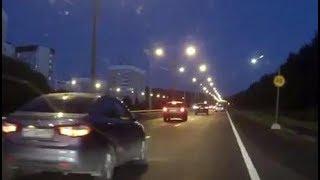 Падение метеорита в Петербурге (11.09.2017)
