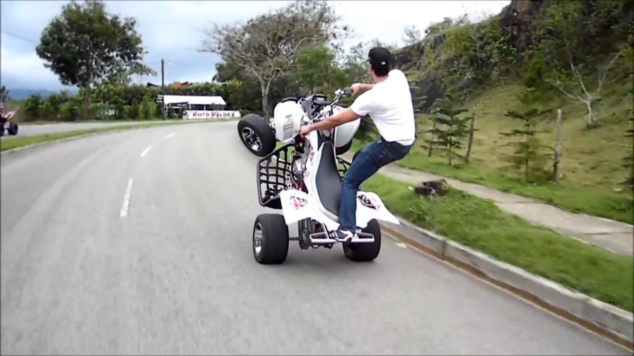 wheelie raptor 700 stunt rims danny rivas longest wheelie ...