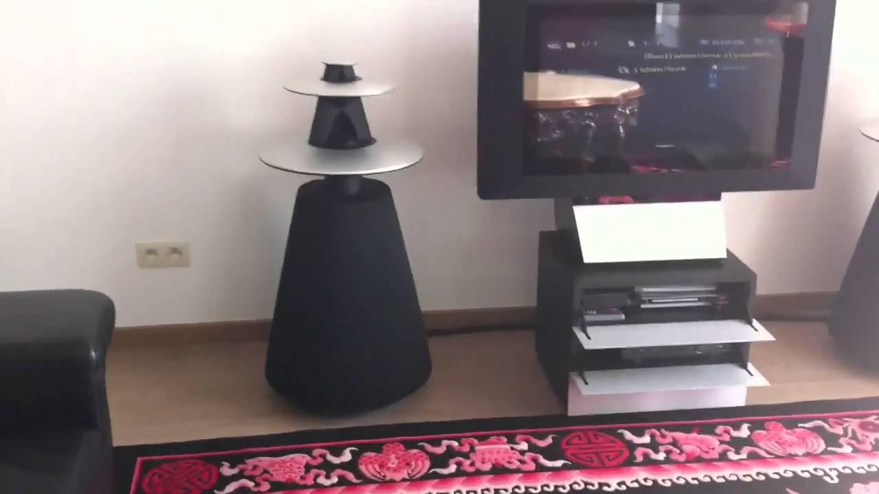 bang olufsen beolab 5 dubstep youtube. Black Bedroom Furniture Sets. Home Design Ideas