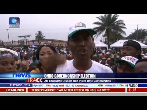 Alliance For Democracy Holds Mega Rally Ahead Of Ondo Poll