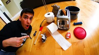EPIC HOUSEHOLD ITEM TRICK SHOTS!