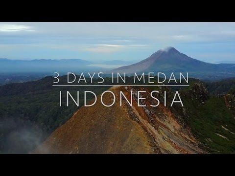 Volcanoes and Lakes in Medan, Indonesia