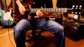 Aerosmithの Walk This Wayを弾いてみました。 Gibson SG Jr & Marshall...