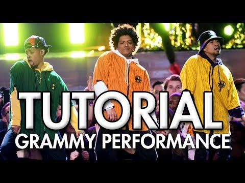 Bruno Mars And Cardi B - Finesse (LIVE From The 60th GRAMMY'S) DANCE TUTORIAL | MihranTV