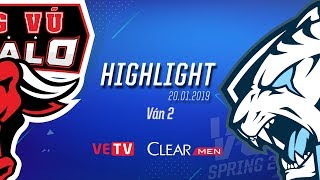 PVB vs EVS_Highlight [VCS Mùa Xuân 2019][20.01.2019][Ván 2] thumbnail