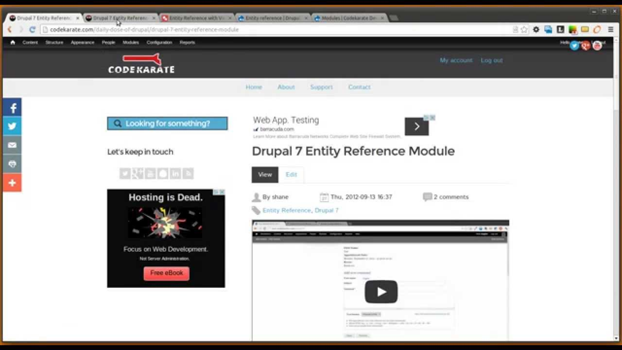 Using Views with the Entity Reference module in Drupal 7 | Code Karate
