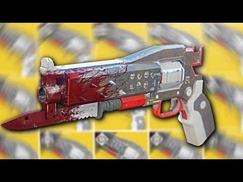 """The NEW """"Crimson"""" Exotic Handcannon (Destiny 2)"""
