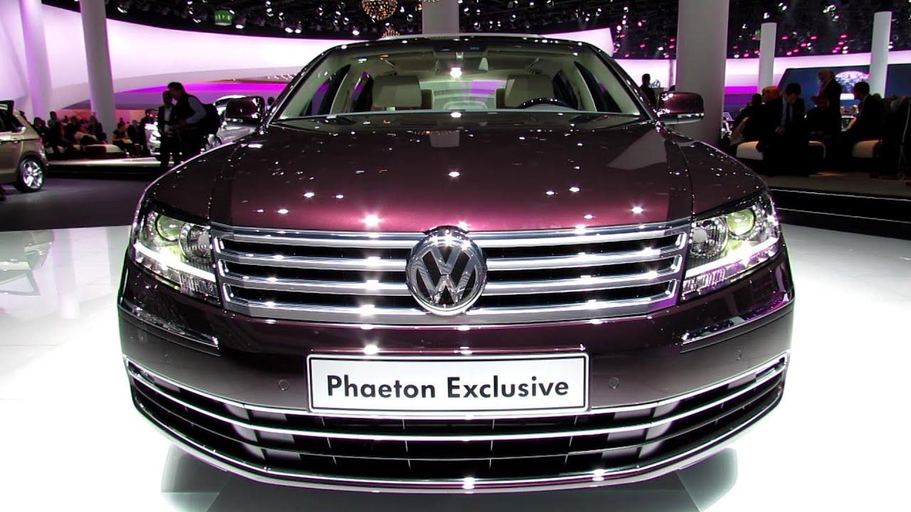 2014 Volkswagen Phaeton Exclusive  Exterior and Interior
