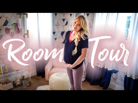 Our Baby's Nursery Room Reveal!!! (This took us 3 months)
