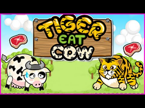Tiger Eat Cow Level 1-15 Walkthrough