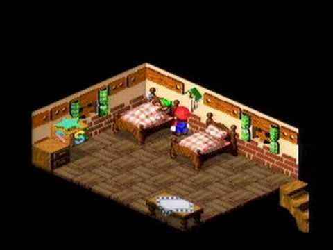 Link and Samus Cameo in Super Mario RPG