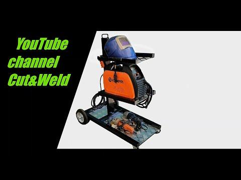Building mig welding cart DIY #3