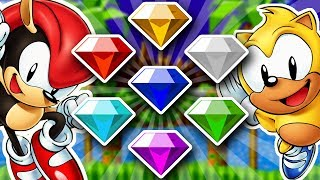 How To Get All 7 Chaos Emeralds in Sonic Mania Plus EASY! (Switch, Xbox One, PS4, PC)