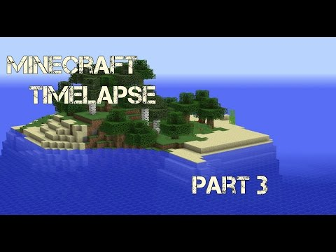 Adding more to the house and more resources! - Minecraft timelapse - Survival island - Part 3