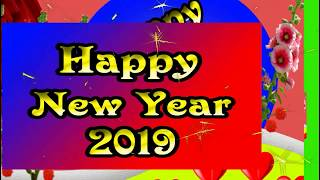 Happy New Year 2019 Wishes Video | Happy New Year 2019 Green Screen effects video