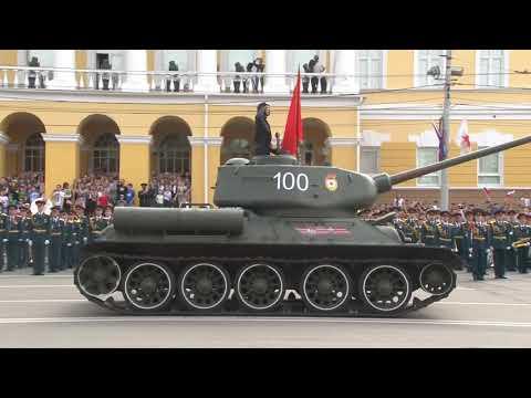 Парад победы в Нижнем Новгороде