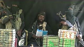 فيديو..زعيم بوكو حرام يظهر مجدد بعد إعلان مقتله
