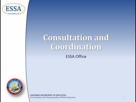 Consultation and Coordination Overview
