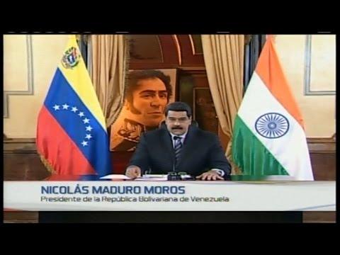 Convenio de Producción Petrolera  Venezuela - India