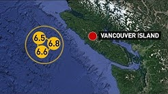 Series of earthquakes strikes off B.C. coast